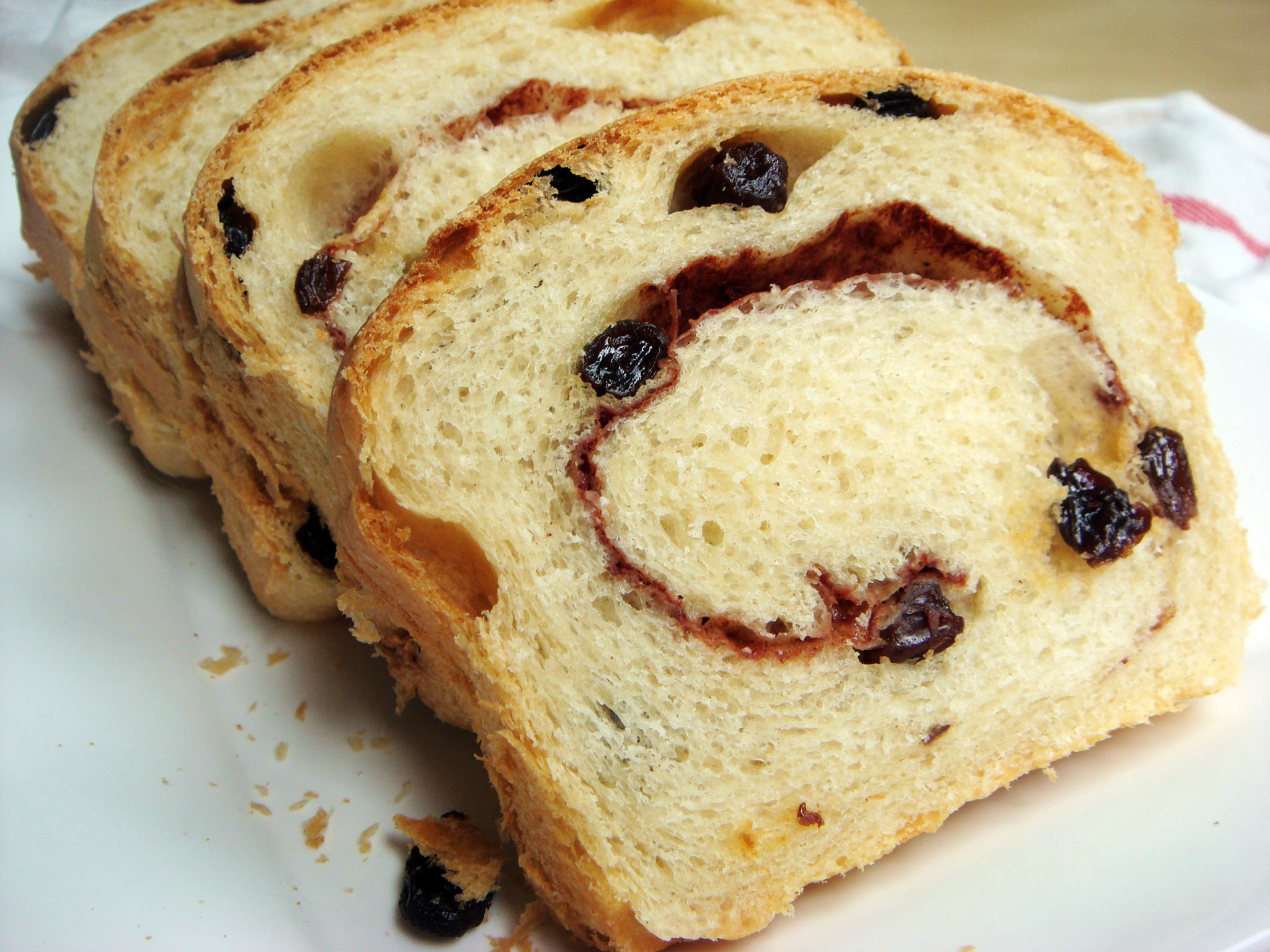 Cinnamon Raisin Swirl Bread – Jillian Cupcake