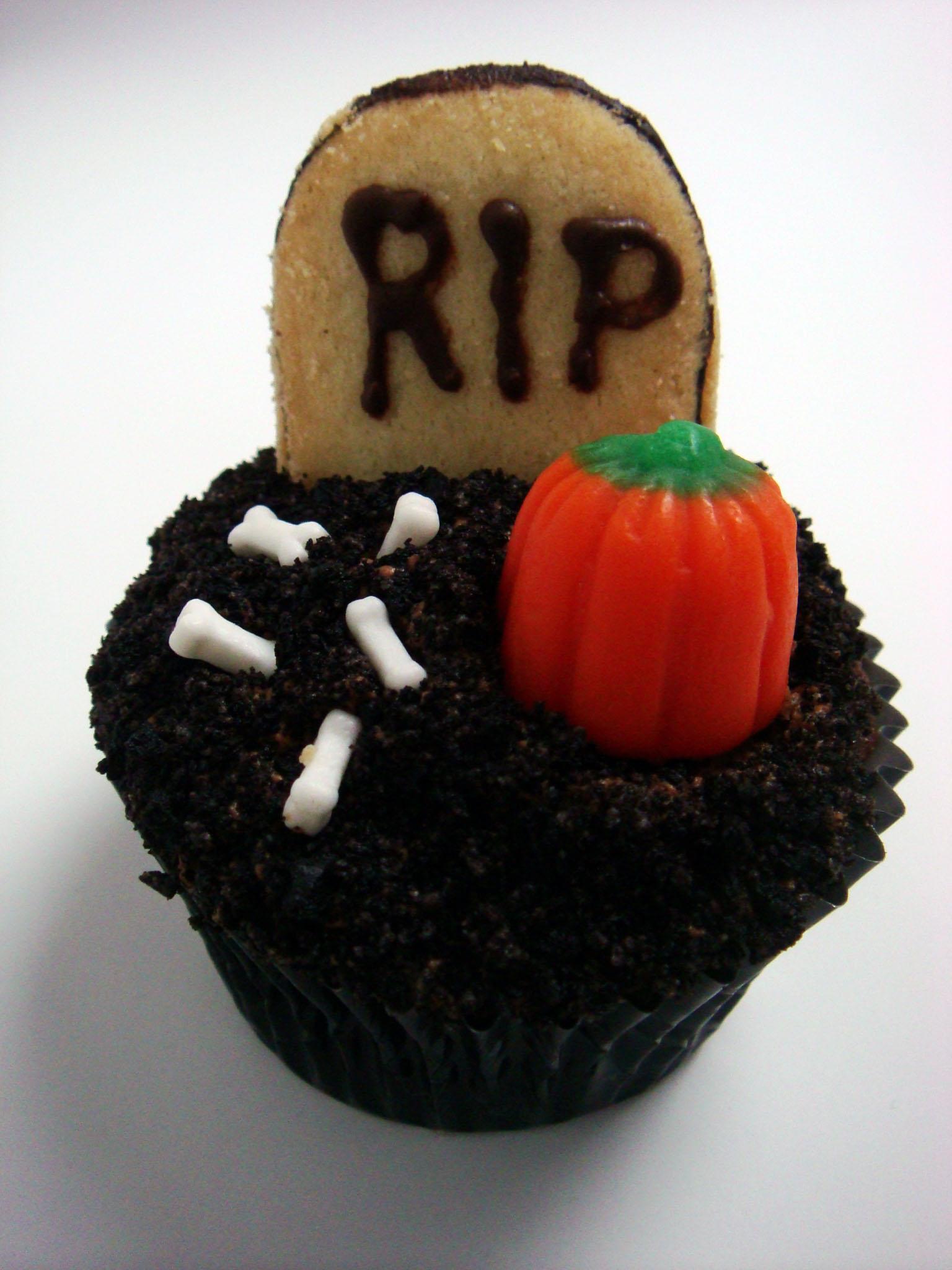 Happy Halloween Spooky Cute Cupcakes Jillian Cupcake