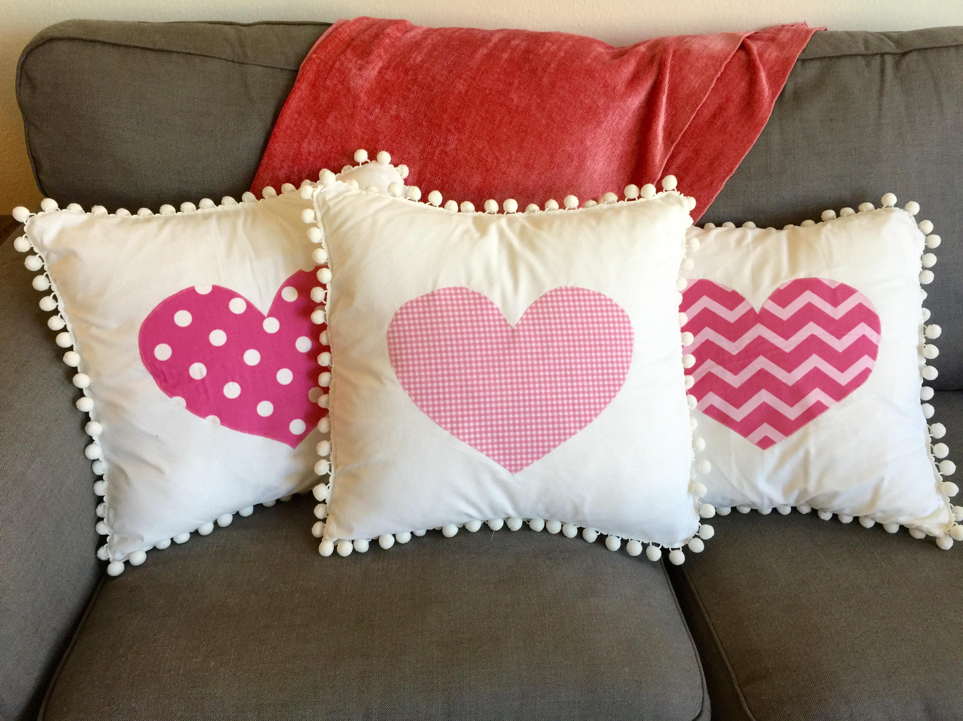 Valentines Throw Pillows – Craftbnb