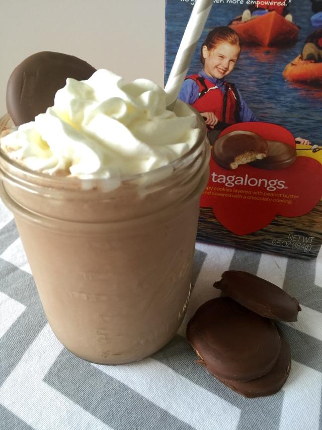 Tagalong Milkshake